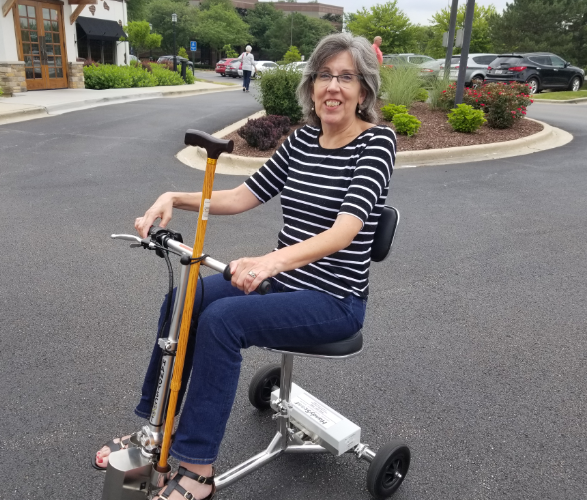 Carol on HandyScoot in AL