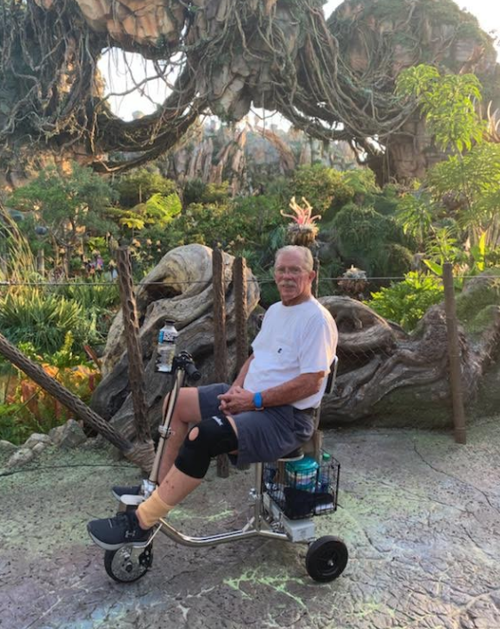 Don_W_at Disney on HandyScoot